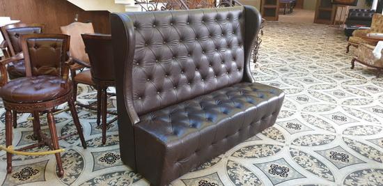 перетяжка мебели для ресторанов